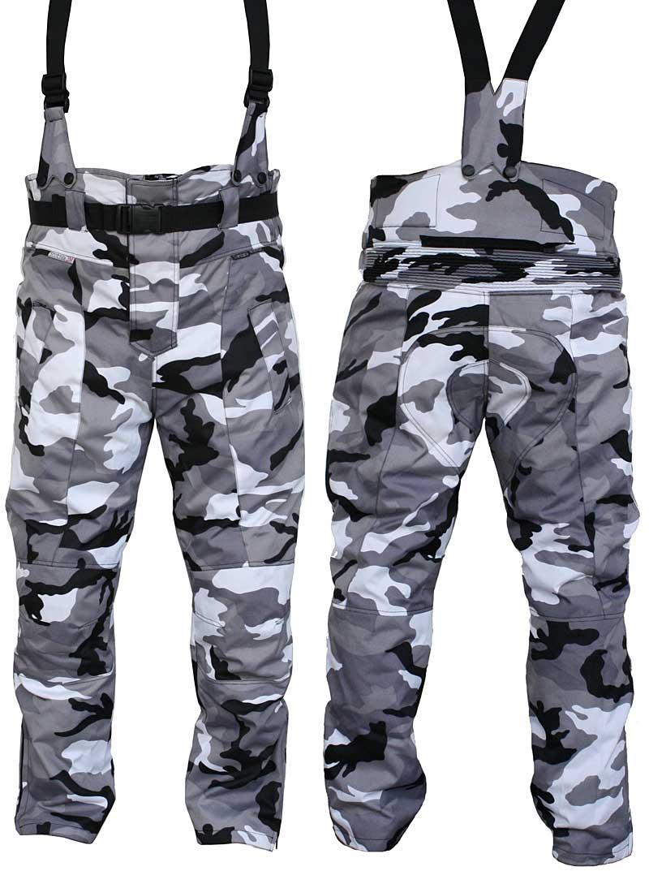 KOMFORT Trägerhose snow-camouflage