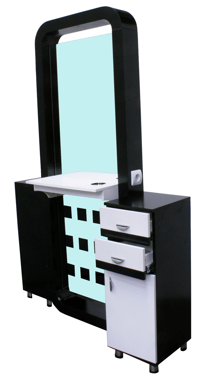 1909 spiegel cassino doppelseitig schwarz wei kleine lacksch den reduziert lenando. Black Bedroom Furniture Sets. Home Design Ideas