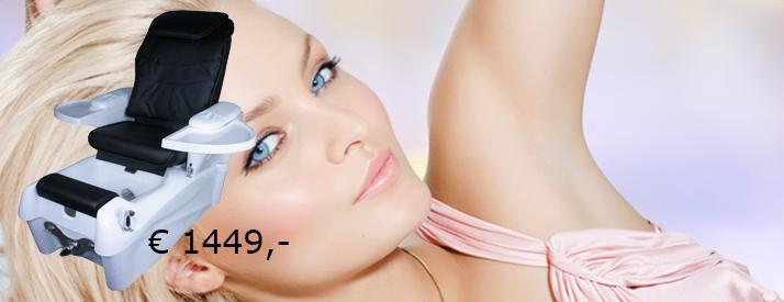 1476 Luxus SPA Fusspflegestuhl mit Massage und Fussbad