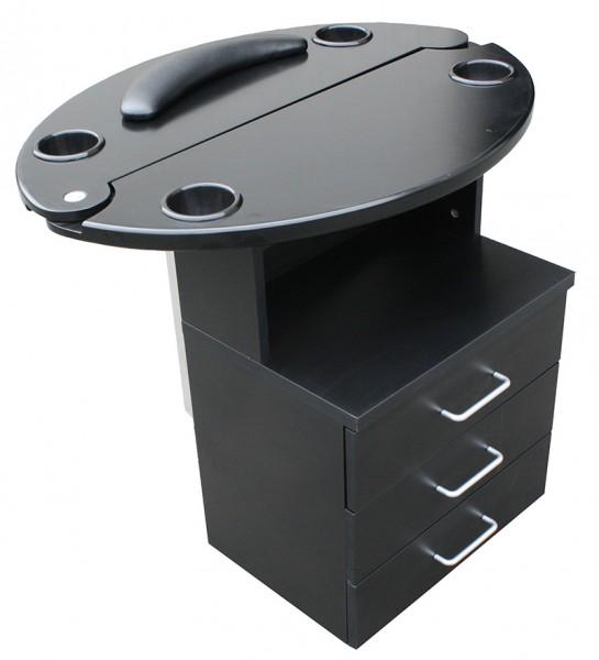 1468 Mini-Bedienplatz schwarz, Platte schwarz