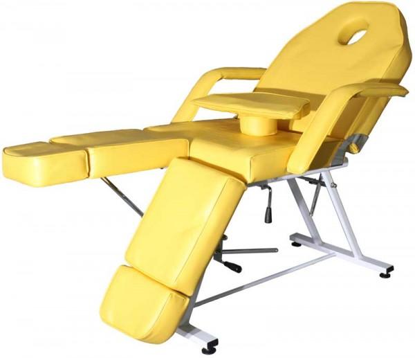 1406 Fußpflegeliege gelb