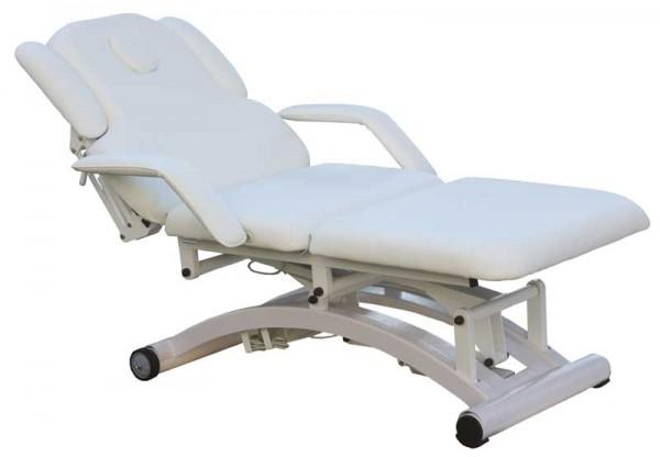 1239 SILVERFOX Massage,- und Kosmetikliege elektrisch weiß