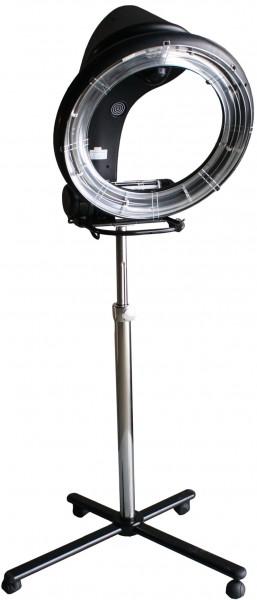 1040 Infrarot-Climazon für Friseur mit Stativ schwarz