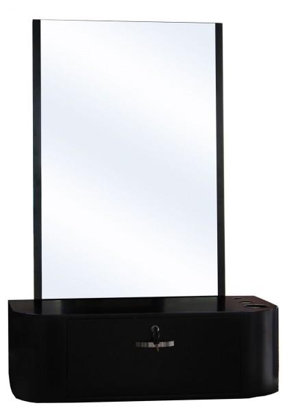 2025 Wandspiegel COSENZA Schleiflack schwarz B-Ware