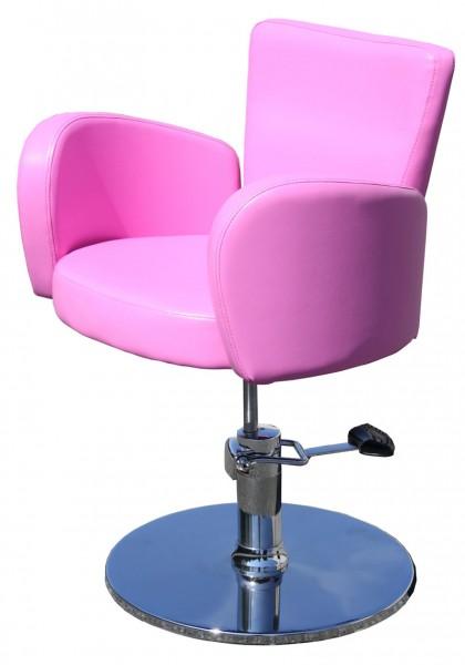 1367 Friseurstuhl CESANO (PVC 424-6 pink, Musterprägung 424)