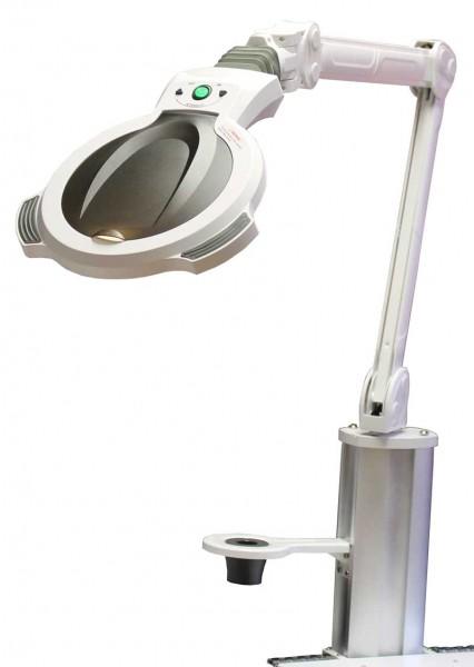 1259 SILVERFOX Lupenlampe mit Schraubhalter System A+B
