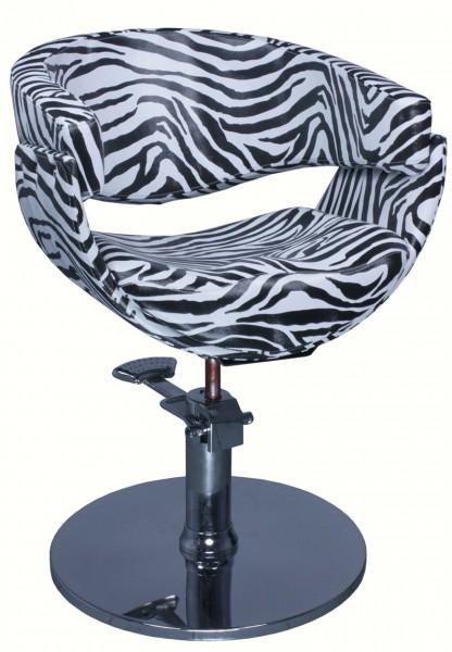 1875 Friseurstuhl ASCOLI Korpus zebra (PVC 703 zebra)