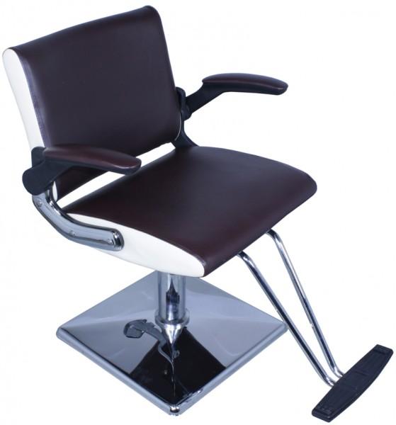 EINZELSTÜCK 1370 PAVIA Sitzfläche braun - Seite creme B1 0619