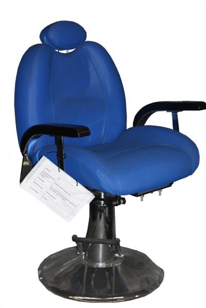 EINZELSTÜCK 1144 Friseurstuhl Figaro MODENA blau C1 0025