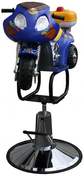 1311 Kinderstuhl Motorrad blau-gelb