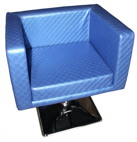 1374 Friseurstuhl MASSA-1 blau