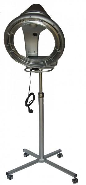 1040 Infrarot-Climazon für Friseur mit Stativ silbergrau