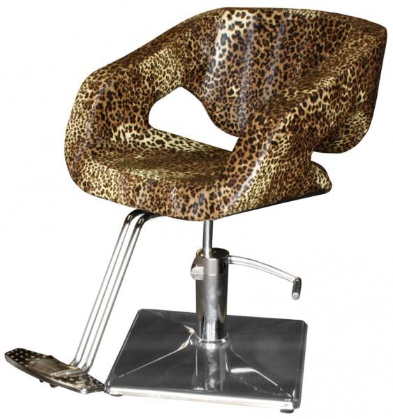 2010 Frisierstuhl CATANIA Leopard-natur